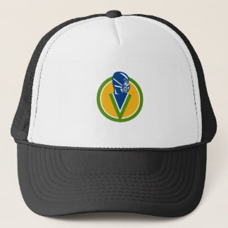 Fumigation Pest Control Service Icon Trucker Hat