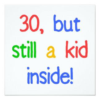 Fun 30th Birthday Humor 13 Cm X 13 Cm Square Invitation Card