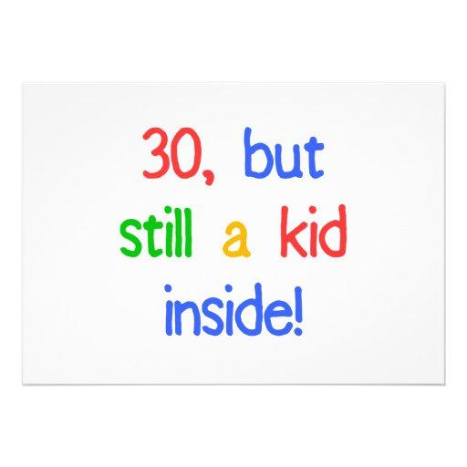 Fun 30th Birthday Humor Announcement