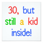Fun 30th Birthday Humour Personalised Announcements