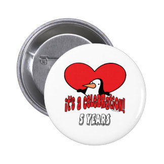 Fun 5th Birthday Gifts 6 Cm Round Badge