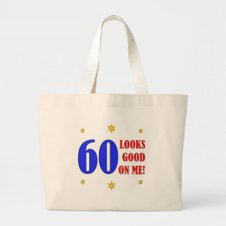 Fun 60th Birthday Gifts Tote Bags