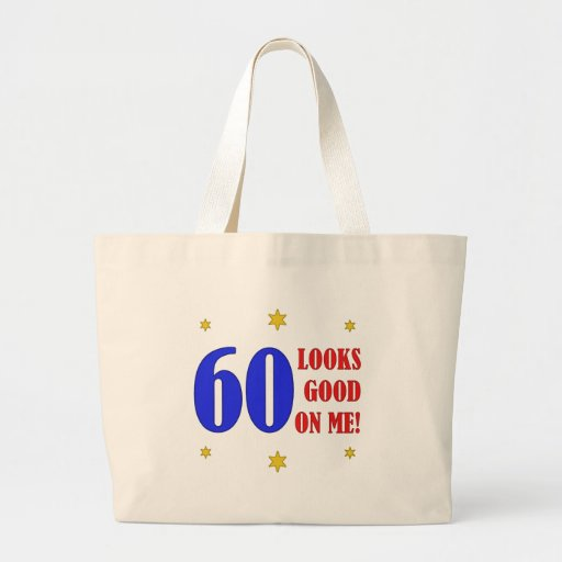 Fun 60th Birthday Gifts Tote Bags