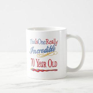 Fun 70th Birthday Gifts Mugs