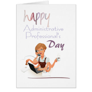 Fun Administrative Professional's Day Card