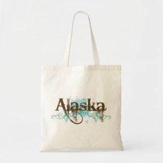 Fun Alaska Grunge T-shirt Gift Tote Bag