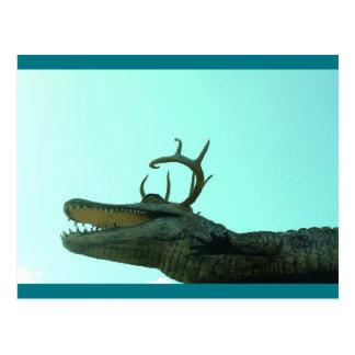 Fun Alligator Postcard