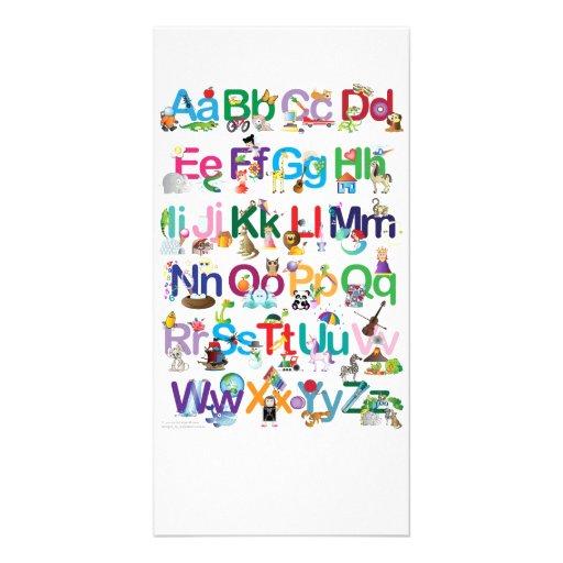 Fun Alphabet Photo Cards