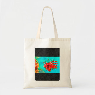 Fun and Colorful Small Tote Budget Tote Bag