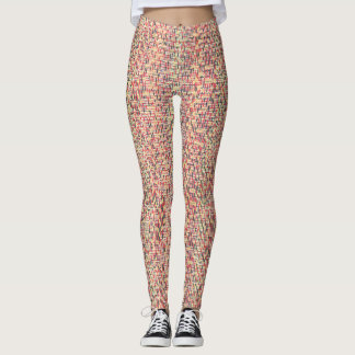Fun and Fancy by Vivid Colorz Leggings