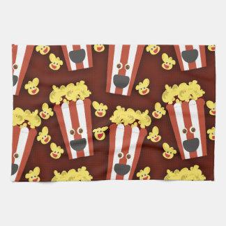 Fun and Fresh Movie Popcorn Tea Towel