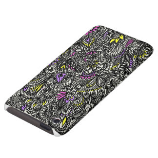 Fun and funky doodle design iPod Case-Mate case