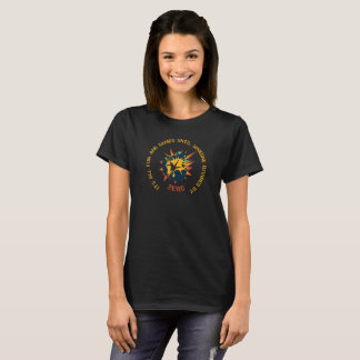 Fun and Games Divide by Zero Math Teacher T-shirt