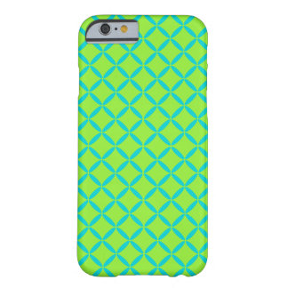 Fun Aqua Lime iPhone 6 Barely There iPhone 6 Case