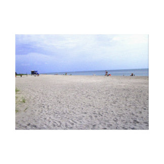 Fun At The Beach Stretched Canvas Prints