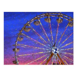 fun at the fair artwork postcard