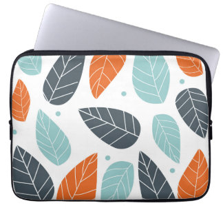 Fun Autumn Leaves Laptop Sleeve