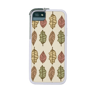 Fun Autumn Leaves Pattern iPhone 5 Case