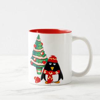 Fun Baby Penguin. Christmas Gift Mug Coffee Mug