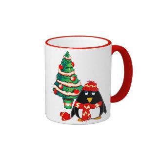 Fun Baby Penguin. Christmas Gift Mug Mug