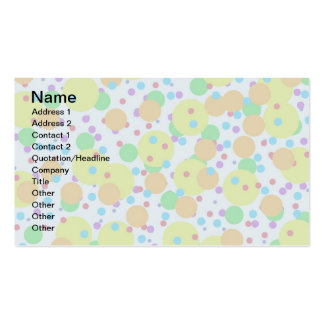 Fun Background Pack Of Standard Business Cards