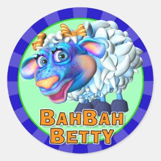 Fun Bah Bah Betty Stickers