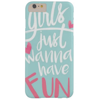 Fun Barely There iPhone 6 Plus Case