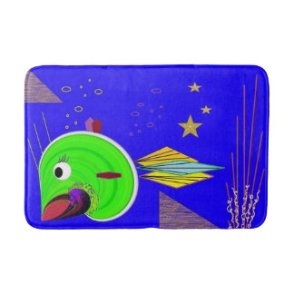 Fun bath mat for the little one