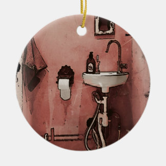 Fun Bathroom Ceramic Ornament