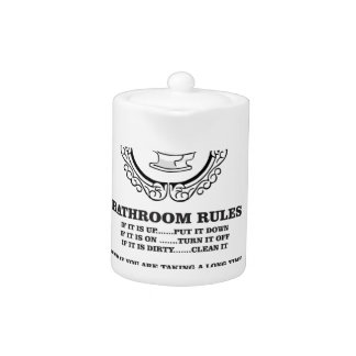 fun bathroom rules