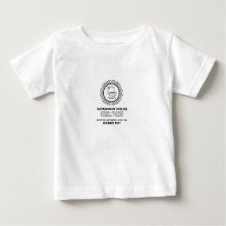 fun bathroom rules baby T-Shirt