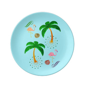 Fun Beachy Summertime Plate
