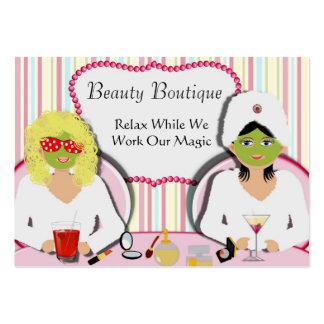 Fun Beauty Salon Health Spa Business Card