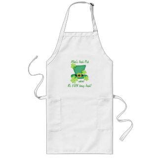 Fun Being Irish Restaurant Pub Custom Business Long Apron