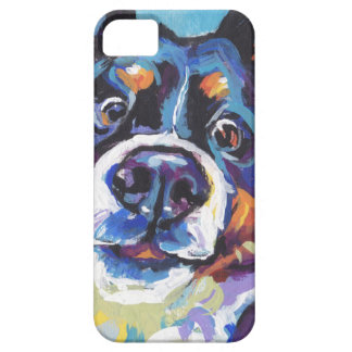 FUN Bernese Mountain Dog pop art painting Barely There iPhone 5 Case