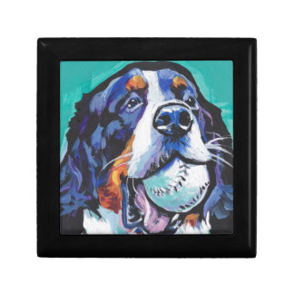 FUN Bernese Mountain Dog pop art painting Gift Box