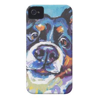 FUN Bernese Mountain Dog pop art painting iPhone 4 Case-Mate Case