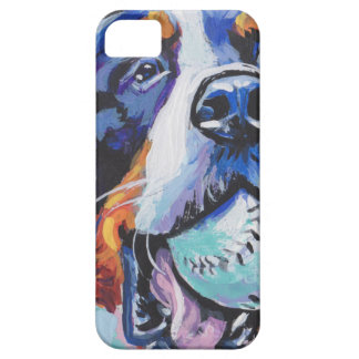 FUN Bernese Mountain Dog pop art painting iPhone 5 Case