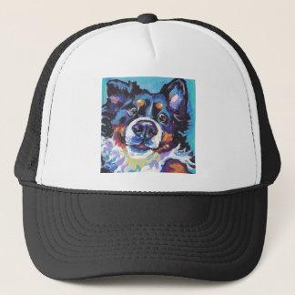 FUN Bernese Mountain Dog pop art painting Trucker Hat