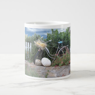 Fun Bicycle Ride Large Coffee Mug