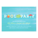 Fun Birthday Pool Party Invitation
