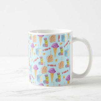 Fun Birthday Treats Pattern Coffee Mug