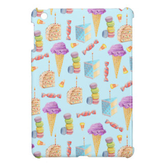 Fun Birthday Treats Pattern iPad Mini Cover