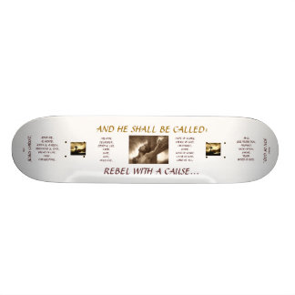 "FUN BOARD : Jesus Christ - ""Rebel With A Cause"" 20.6 Cm Skateboard Deck"