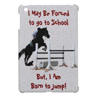 Fun Born to Jump Equestrian Case For The iPad Mini