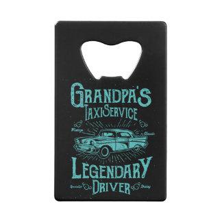 Fun Bottle Opener - Grandpa's Taxi Service