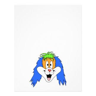 Fun Bright and Colorful Dog Cartoon. Custom Flyer