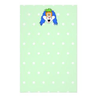 Fun Bright and Colorful Dog Cartoon Custom Flyer