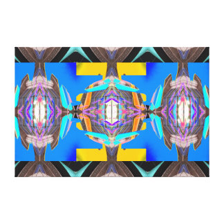 Fun Bright Colorful Canvas Art Artwork Modern Gallery Wrapped Canvas