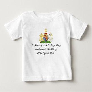 """Fun British Royal Wedding """"Page Boy"""" souvenir top"""